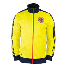 New Adidas Colombia Yellow Track Top Soccer Jacket M36367