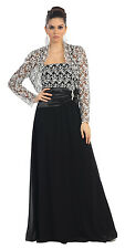 TheDressOutlet Long Formal Dress Mother of the Bride Plus Size Evening Gown