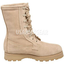 New Desert Tan Army Military Heavy Duty Goretex Work Wolverine Boots 9.5 R