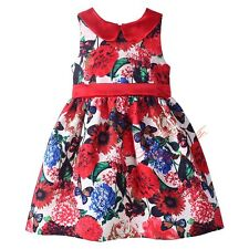 Flower Todder Girl Formal Dress Floral Wedding Party Baby Kids Dresses size 3-8T