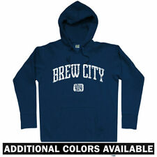 Brew City 414 Milwaukee Hoodie - WI Wisconsin MKE Brewers Bucks Beer - Men S-3XL