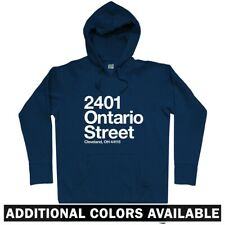 Cleveland Baseball Stadium Hoodie - Indians Ohio OH 216 Tribe Wahoos - Men S-3XL