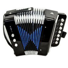 *Great Gift* Accordion 7 Button 2 Bass Kid Music Instrument High Quality