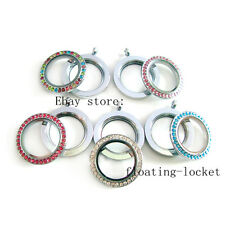 Multi-Style Twist Threaded Screw top Locket Floating Charms Locket Free Shipping