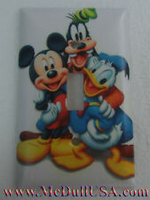 Disney Mickey mouse Donald Duck Goofy Pluto Switch & Duplex Outlet Cover Plate