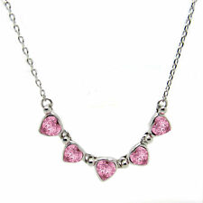 Five  Heart  Pendant Necklace made with SWAROVSKI® Crystals