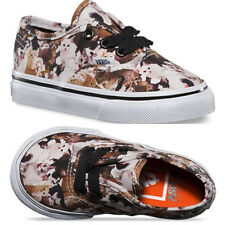 Vans Off The Wall Toddler Authentic ASPCA Kittens Cat Trainer Classic Lace Shoes