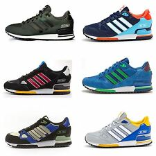 Men Adidas ZX 750 Suede Retro Vintage Look Trainers in All Sizes