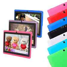 "8 Colors 7"" A33 Android Quad Core Camera 1GB 16GB Tablet PC Bluetooth AU"
