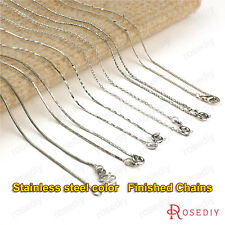 1 piece Length 43CM Stainless steel Copper Finished Necklace Chains 23893