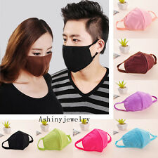 5pcs Health Cycling Anti-Dust Cotton Mouth Face Respirator Unisex Mask NEW
