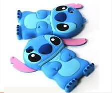 3D Cartoon Stitch Movable Ear Rubber Case Cover For iPhone 4S 5S 6 6S Plus P270