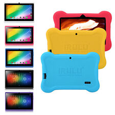 "iRULU 7"" Tablet PC Android 4.4 Quad Core Wifi 8GB Pad PPC Gift W/ Silicone Case"