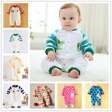 Newborn Baby Rompers Cheap Girls Boy Jumpsuit Clothes Spring Costume Outfits