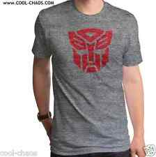 Logo Autobots Transformers T-Shirt 80s TV Show-Optimus Prime Mens T-shirt S/2X