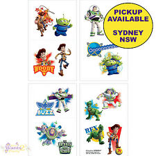 TOY STORY PARTY SUPPLIES 8 TATTOOS LOOT BAG BIRTHDAY BUZZ WOODY FAVOURS