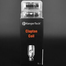 KANGER CLAPTON REPLACEMENT COILS -0.5OHM  AUTHENTIC! 5PCS/PK - IN STOCK