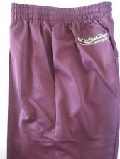 New! Bowlswear Men's Maroon Comfort Fit Trousers Only $45 with Free Postage!