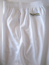 New! Bowlswear Men's White Comfort Fit Trousers Only $45 with Free Postage!