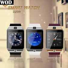 DZ09 Bluetooth Smart Unlock Phone Watch with Camera for IOS Android Phone SIM AU