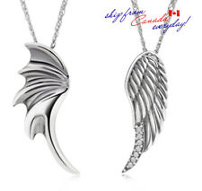 S925 Sterling Silver Thailand Silver Couple's Necklace/Free Trackable Shipping