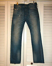 Mens Diesel Industries Thavar-US Denim Jeans Slim Skinny 0813L 28 & 29 x 30 $328
