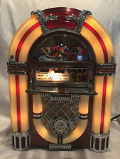 Pre-owned 1998 Nostalgia AM/FM Radio Juke Box Cassette Player Antique Style