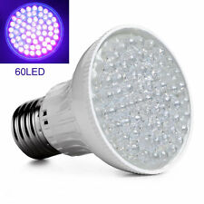 Ultra Bright E27 UV Ultraviolet Color Purple Light 60LED Lamp Bulb 110/220V Fine