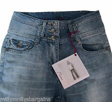 New Womens Blue Crop Flare NEXT Jeans Size 12 10 8 6 Petite RRP £30
