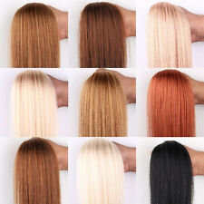 100s AAAA Remy Human Hair Extensions Easy Loop Micro Rings Beads Tipped Straight