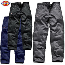 DICKIES REDHAWK ACTION TROUSERS ZIP POCKETS KNEEPAD WORK CARGO COMBAT WORKWEAR