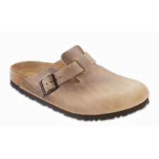 Birkenstock Oiled Leather Boston $199.95rrp - Tobacco Brown 35-40 - BNIB
