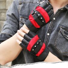 Fingerless Racing Motorcycle Gloves Cycling Bicycle MTB Bike Riding Gloves W50