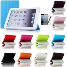 Slim Smart Magnetic Front Cover + Back Case Cover Stand For Apple iPad Mini 1, 2