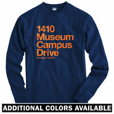 Chicago Football Stadium Long Sleeve T-shirt LS - Bears Soldier Field - Men S-4X