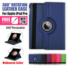 360 Rotation Durable Stand Smart Leather Case for Apple iPad Pro