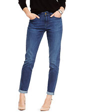 Ladies Ex M&S Collection Relaxed Skinny Denim Stretch Jeans 7 Cols BNWOT RRP £26