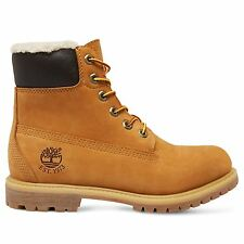 Timberland 6-Inch Premium Fleece Wheat Womens Boots