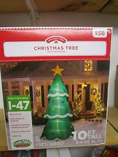 Gemmy 10 ft Lighted Giant Christmas Tree Airblown Inflatable