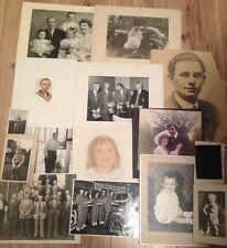 Collection of 15 x Vintage Photographs, Various Sizes & Ages 1912 onwards