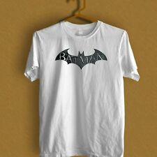 DC Comics Batman Fly Hush Bat Logo black and white T-Shirt S M L XL 2XL 3XL