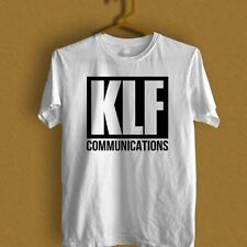 KLF Communications what Time Is Love black and white T-Shirt S M L XL 2XL 3XL