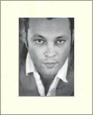 VINCE VAUGHN TRUE DETECTIVE ORIG. HAND SIGNED AUTOGRAPH PHOTO 10X8 MOUNTED & COA