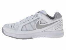 Womens NIKE AIR Vapor Ace Tennis Shoes White Metallic Silver Gray 8 10 11 12 NEW
