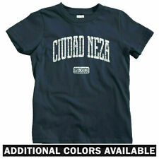 Ciudad Neza Mexico Kids T-shirt - Baby Toddler Youth Tee - Mexican Mixteca Aztec