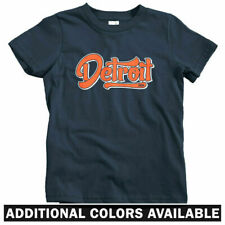 Detroit 1806 Script T-shirt - Baby Toddler Youth Tee - Classic Vintage Retro 313