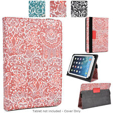 Universal 9 - 10 inch Tablet Paisley Protective Folio Case Cover and Stand