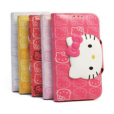 Hello Kitty iPhone 6/6s Case Wallet Cover Clutch Made Korea Face Lock 5 Colors