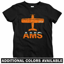 Fly Amsterdam AMS Airport Kids T-shirt - Baby Toddler Youth Tee - Schiphol Cafe