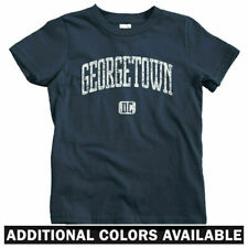 Georgetown DC Kids T-shirt - Baby Toddler Youth Tee - Washington Hoyas Gift USA